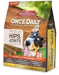 Missing Link Hip Joint Teetch Final - Best Dog Supplements on the Market: Their Ingredients and Description