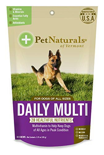 Pet Naturals Daily Multi final - Best Dog Supplements on the Market: Their Ingredients and Description