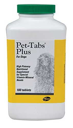 Pet tabs plus final - Best Dog Supplements on the Market: Their Ingredients and Description