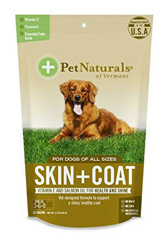 pet natural skin coat final - Best Dog Supplements on the Market: Their Ingredients and Description