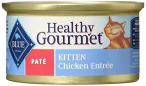 BLUE Healthy Gourmet Kitten Pate Final - Best Kitten Food 2021 - Top Rated Kitten and Cat Foods Reviewed