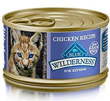 BLUE Wilderness Wild Delights Kitten Flaked Final - Best Kitten Food 2019 — Review of Top Rated Kitten and Cat Foods