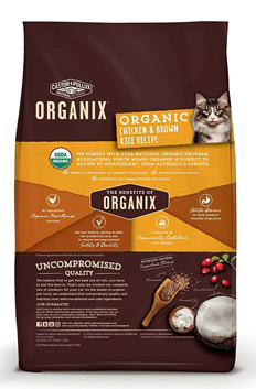 Castor and Pollux Organix Dry Cat Final - Best Organic Kitten Food 2021 — Review of Organic Kitten Foods