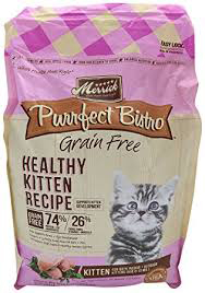 Merrick Purrfect Bistro Grain Free Final - Best Kitten Food 2021 - Top Rated Kitten and Cat Foods Reviewed