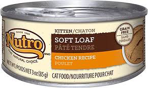 NUTRO Soft Loaf Kitten Wet Cat Food Final - Best Kitten Food 2019 — Review of Top Rated Kitten and Cat Foods